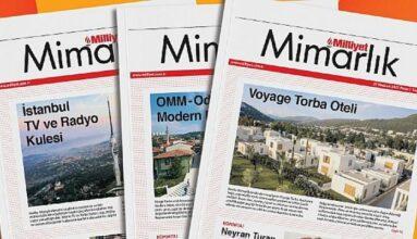 Milliyet Mimarlık dergisi sektördeki güncel bilgileri paylaşmaya devam ediyor